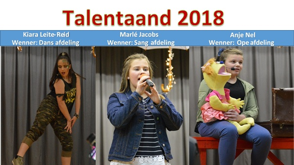 Wenner Talentaand 2018   Laerskool Oranje-Noord